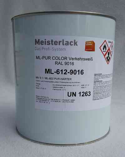 Pur Color Weiss RAL 9010