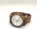 Silver Elegance Watch Zebra Wood