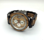 Western Style Watch Zebra Wood